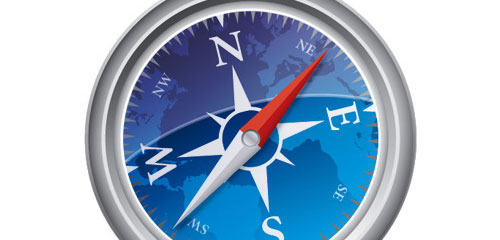 How to Create a Vector Safari Compass in Illustrator - screen shot.