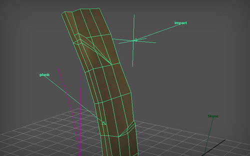 BendDeformer in The Ultimate Collection Of Maya 3D Tutorials