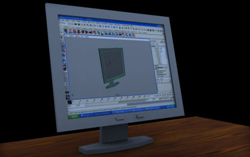 Lcd Monitor in The Ultimate Collection Of Maya 3D Tutorials