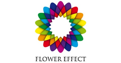 flowereffect 85 Stunning Tutorials of Illustrations and 3D Effects of Illustrator