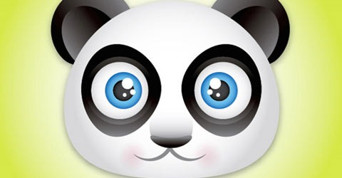 panda 85 Stunning Tutorials of Illustrations and 3D Effects of Illustrator