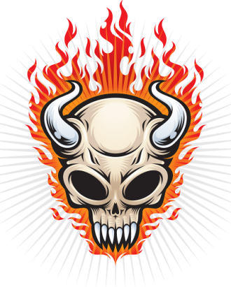 Skull in Adobe Illustrator Tutorials - Best Of