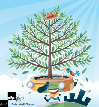 Tree in Adobe Illustrator Tutorials - Best Of