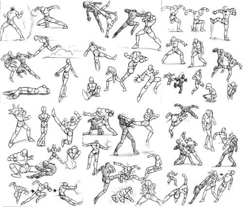 lost_art__action_poses_by_dokuro
