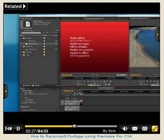 534. adobe premier tut 534 25+ Best Movie Editing in Adobe Premiere Pro CS4