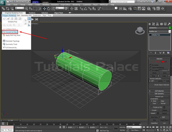 tooth paste 2 How to Make Tooth Paste in 3D Max