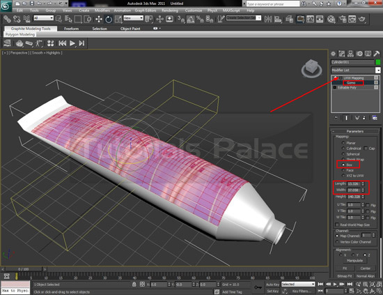 tooth paste 22 How to Make Tooth Paste in 3D Max