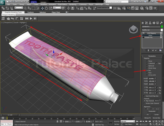 tooth paste 23 How to Make Tooth Paste in 3D Max
