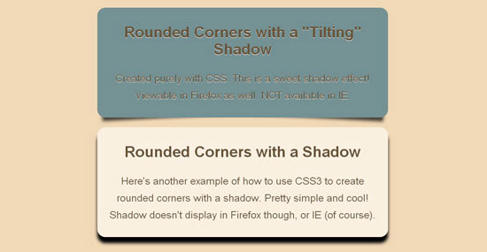 Rounded Corners, Drop Shadows, Opacity & CSS3