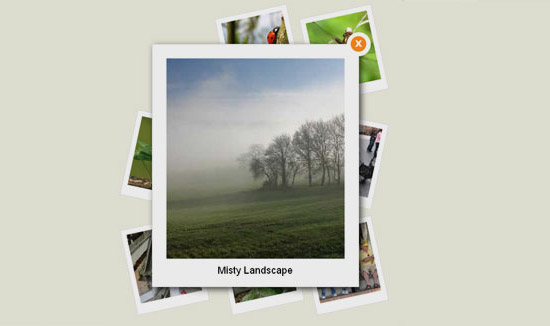 A CSS3 Enhanced Photo Gallery