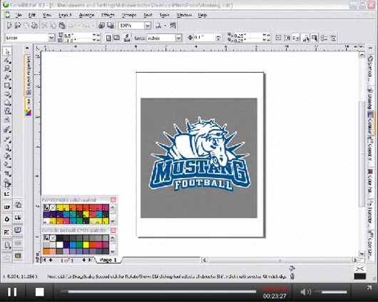 impressive corel draw tuts1627 25 Impressive Corel Draw Tutorials and Tips