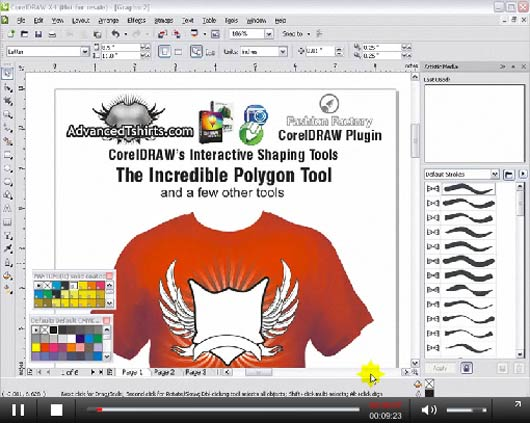 impressive corel draw tuts2102 25 Impressive Corel Draw Tutorials and Tips