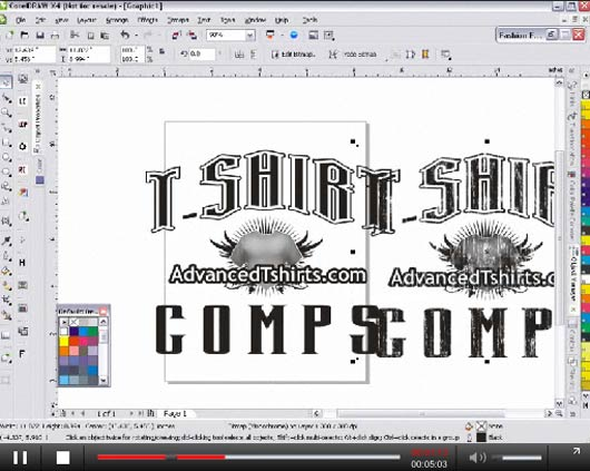 impressive corel draw tuts357 25 Impressive Corel Draw Tutorials and Tips