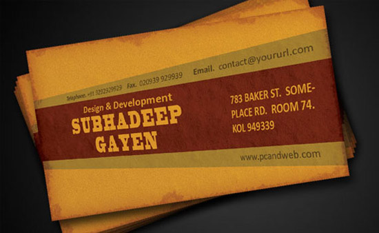 How-to-create-old-grunge-style-ready-business-card-print-design-tutorials