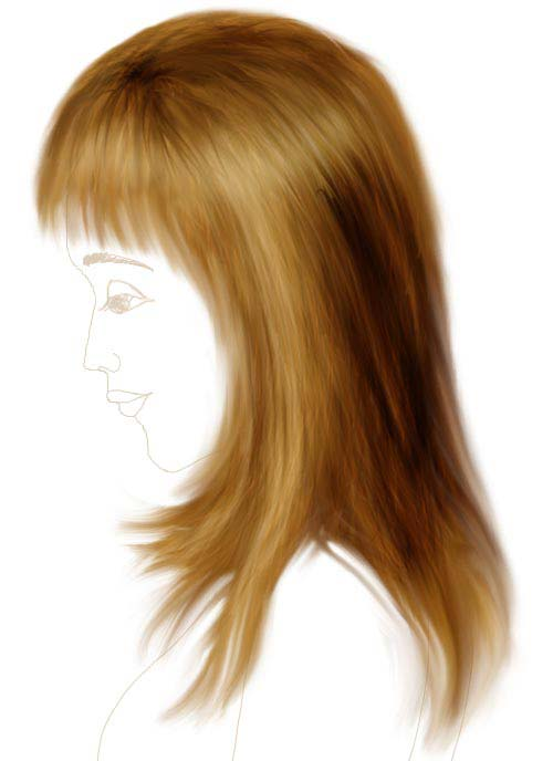 draw-hair-in-photoshop